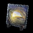 színes kőkép 15x15 cm