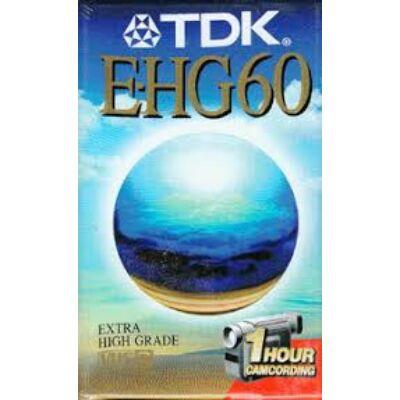 Tdk E-HG 60 Vhs-c kazetta