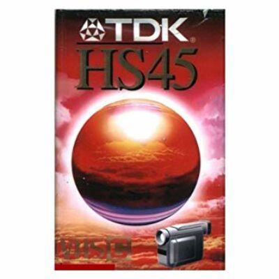Tdk HS 45 Vhs-c kazetta