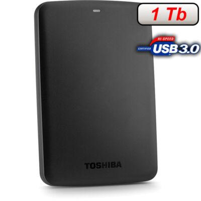 """TOSHIBA 2.5"""" USB 3.0 HDD 1TB CANVIO BASICS 5400RPM 8MB FEKETE"""