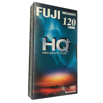 Fuji High Qualitiy Plus 120 perces video kazetta