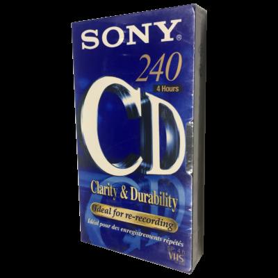Sony Clarity & Durability E-240 videó kazetta