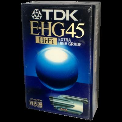 Tdk E-HG 45 Vhs-c kazetta